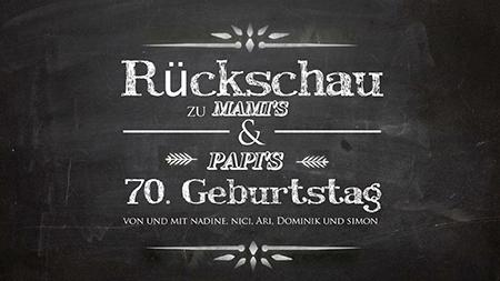Geschenkvideo Geburtstag Film | Region Zürich | Simon Schenk